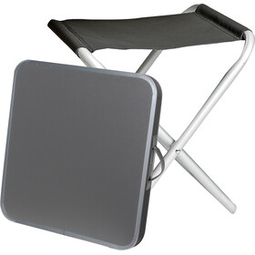 Brunner Hoggy Set Tabletop & Stool black